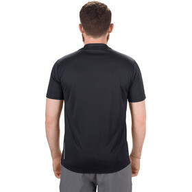 SQUARE Sport Trikot Kurzarm Herren black
